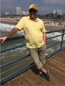 Am Pier von Santa Monica