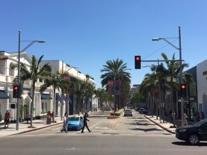 Am Rodeo Drive in Hollywood