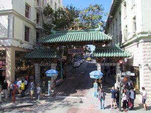 Eingang zu China Town